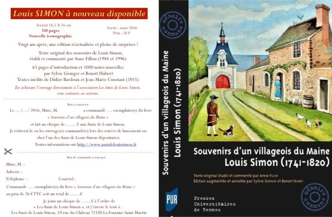 Mémoires de Louis Simon