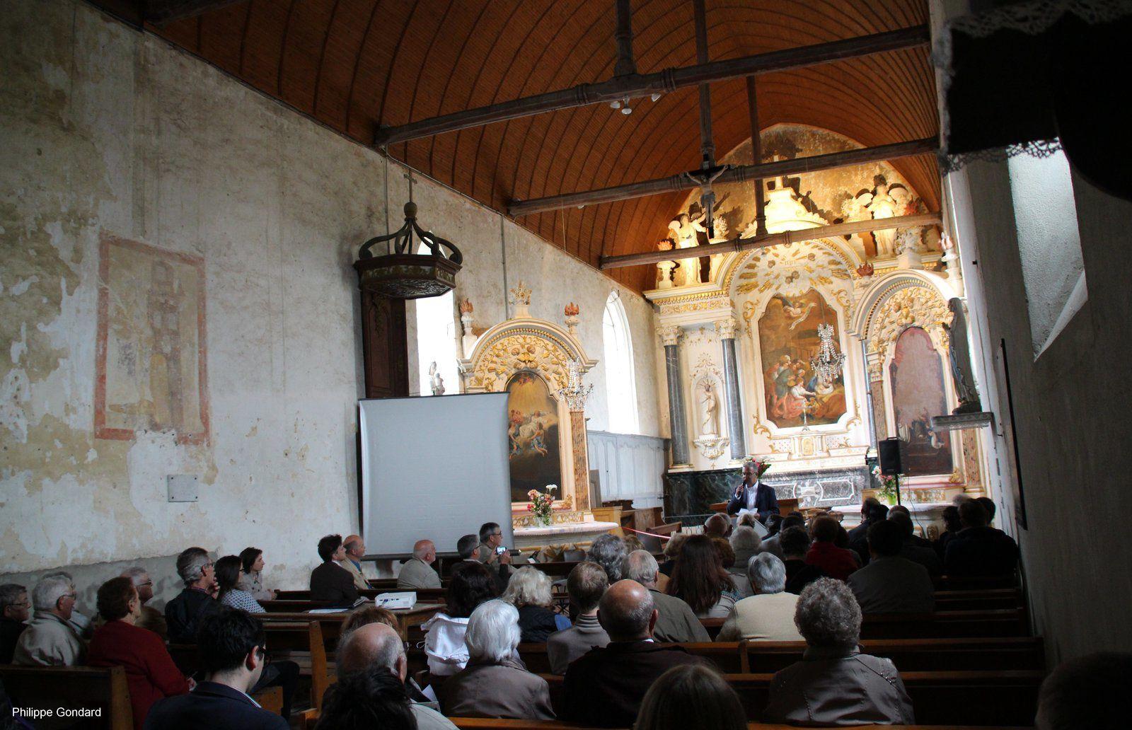 Inauguration des retables de Fercé sur Sarthe