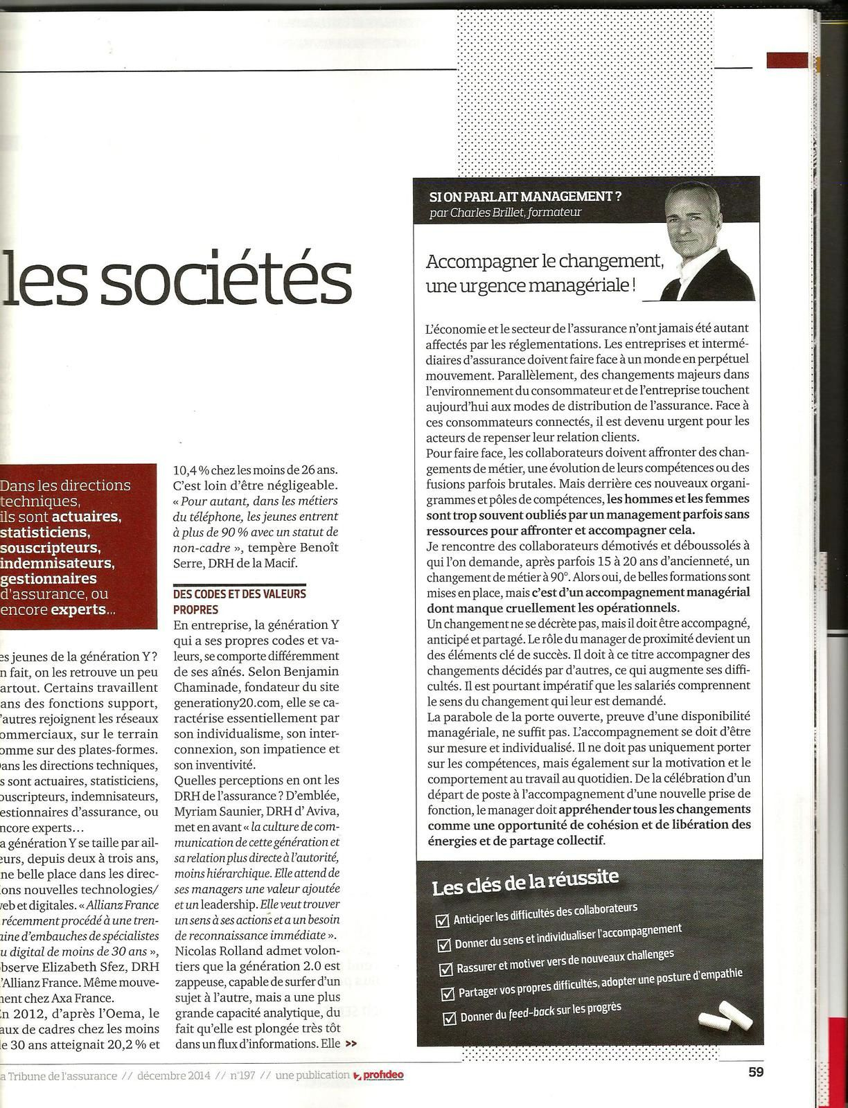 article charles brillet : et si on parlait management