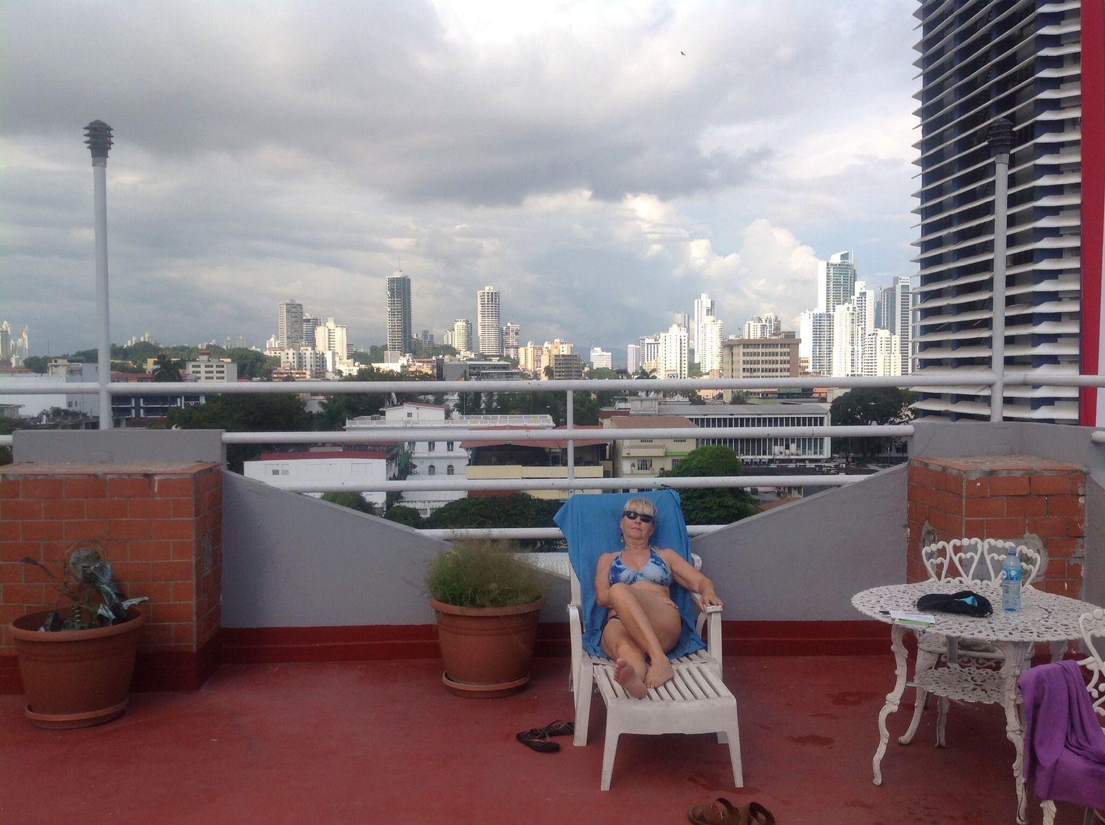 Toutes les photos du PANAMA ont été faite avec 37° de température et 70% d'humidité .