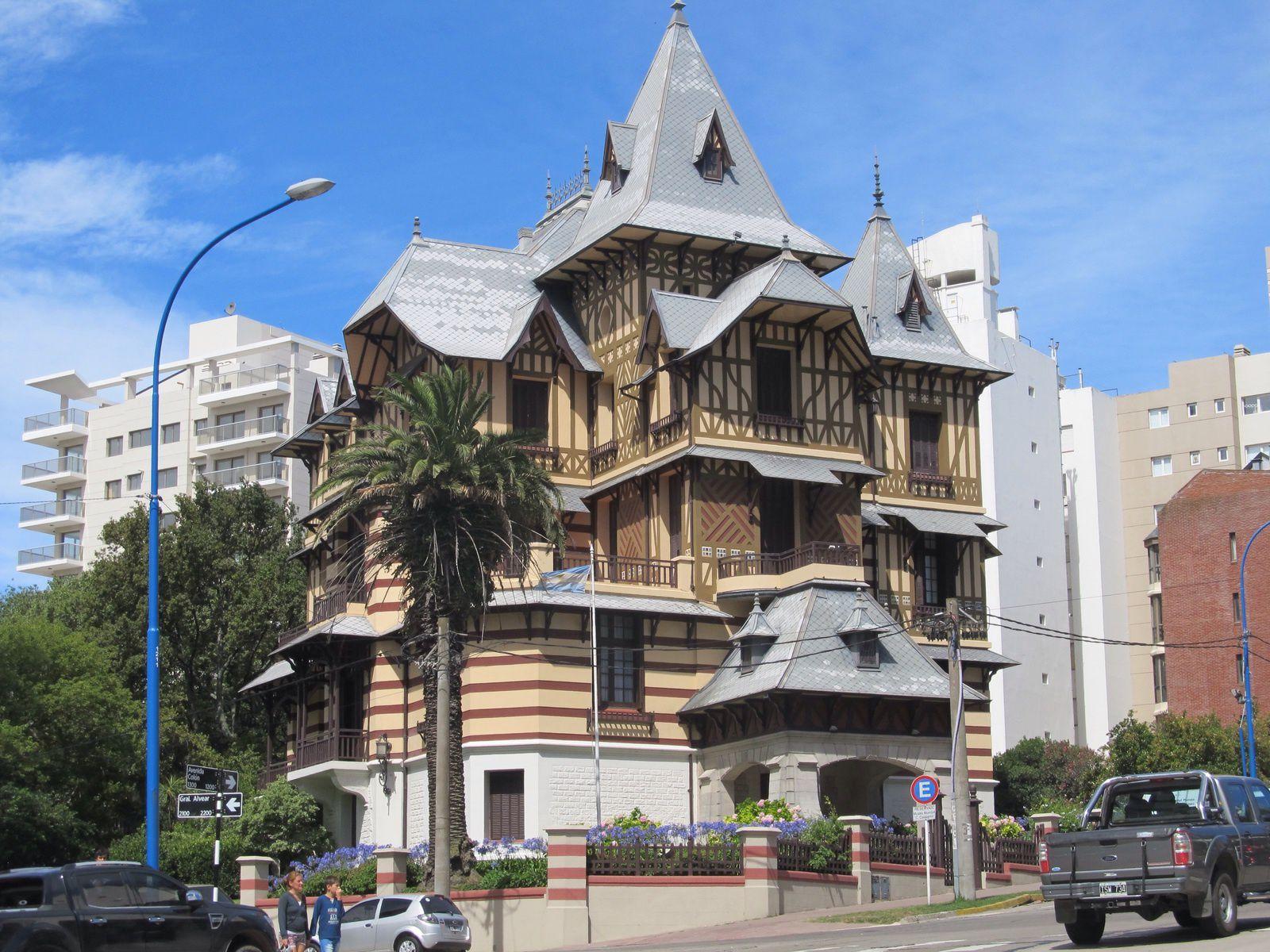 MAR  DEL  PLATA  LA RICHE STATION  BALNÉAIRE