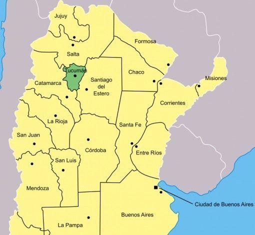 SAN  MIGUEL DE  TUCUMAN  (  province  du centre )
