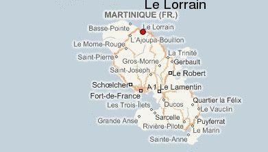 LE LORRAIN  // LE MARIGOT // LES PLAGES NOIRES .