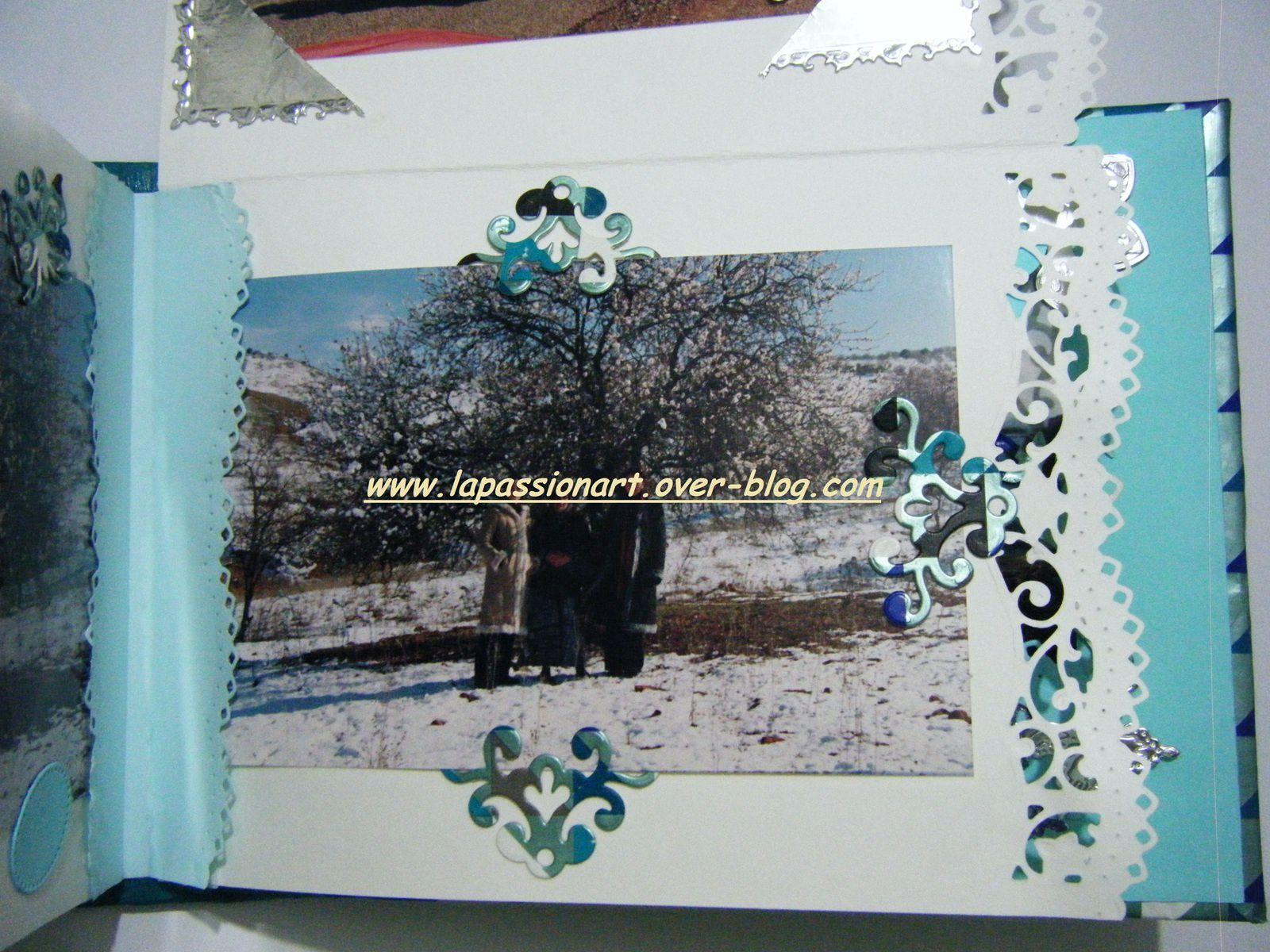 Mini album jour de neige :