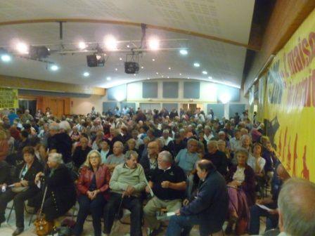 Réunion à Roquefort : gros succès