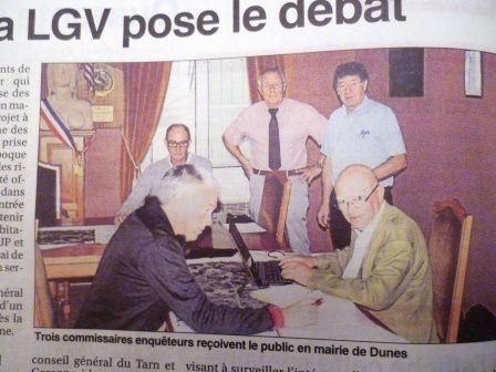 EUP : les commissaires à Dunes