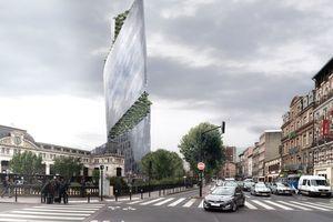 Gratte-ciel à Toulouse