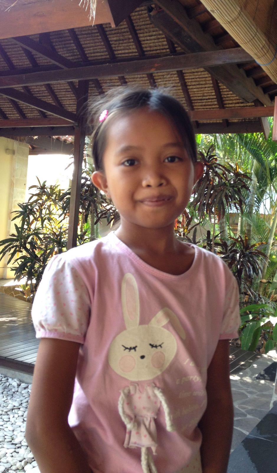 Jolies frimousses à Bali