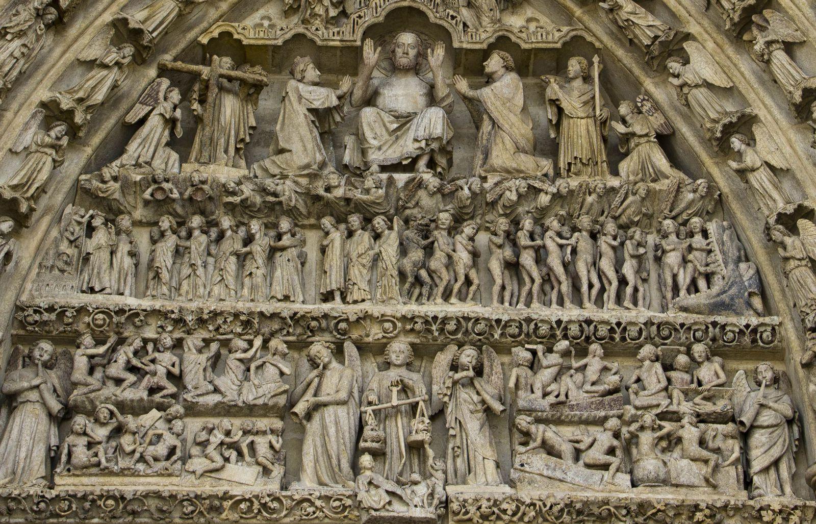 Différents détails des sculptures