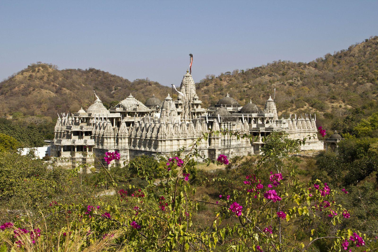 Temple de Ranakpur - Un palais à Chittorghar