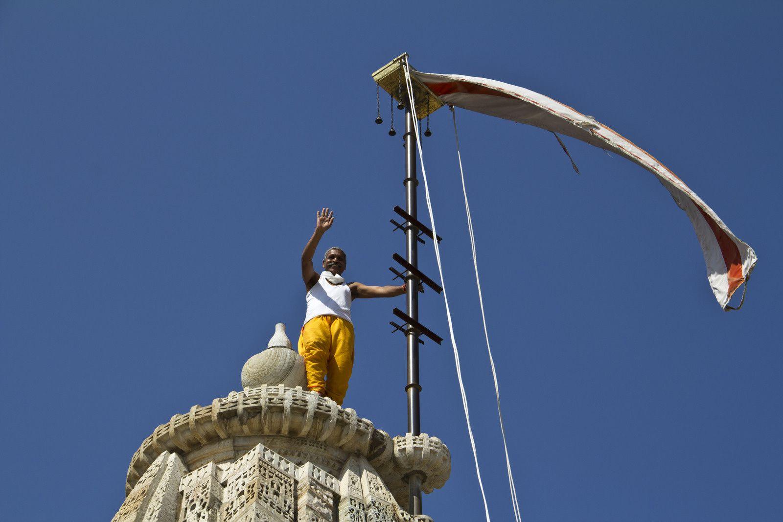 Le temple Jaïn de Chittorgarh.