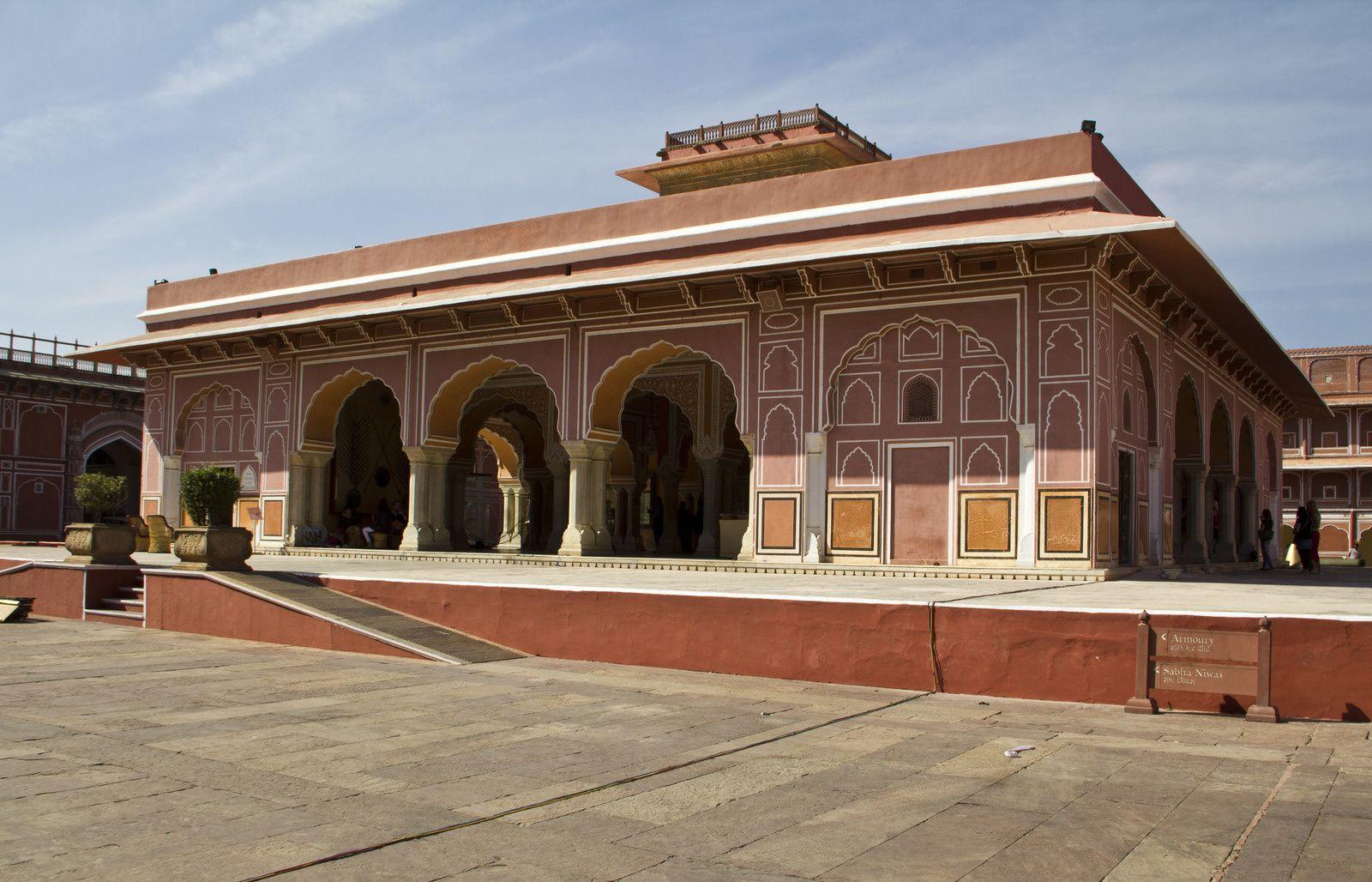 Différentes vues du City Palace, le Mubarak Mahal, le Diwan-i-Khas, ...