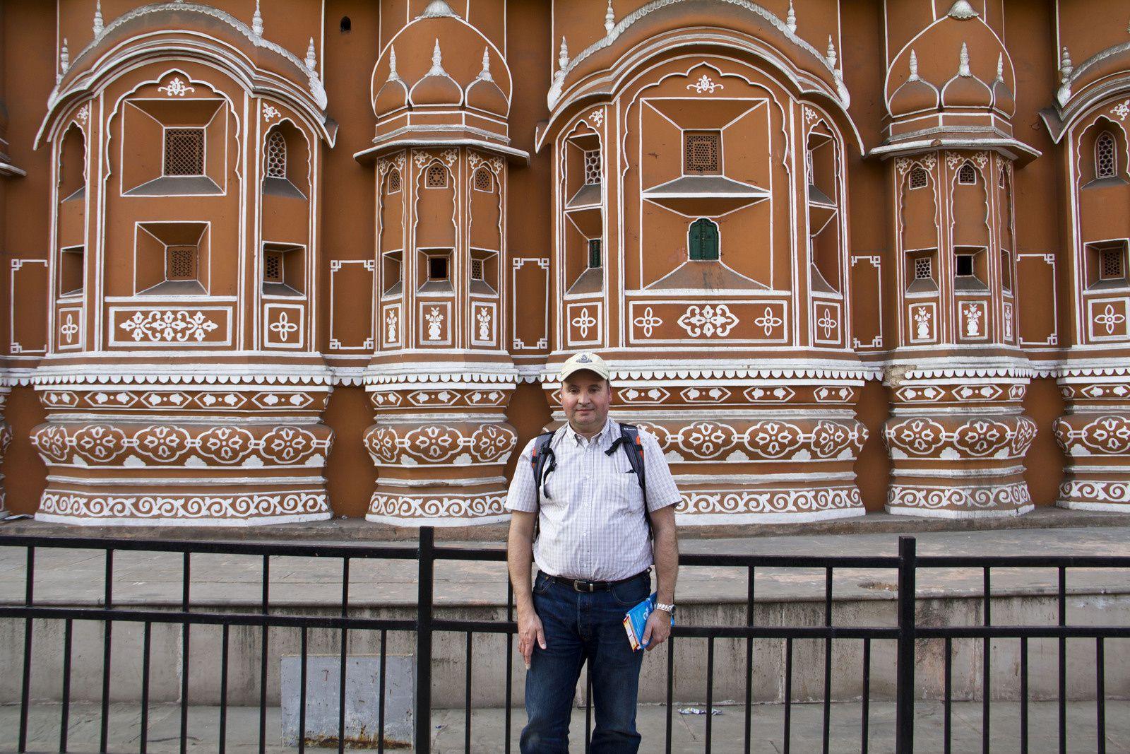 Différentes vues du Palais des vents - Hawa Mahal
