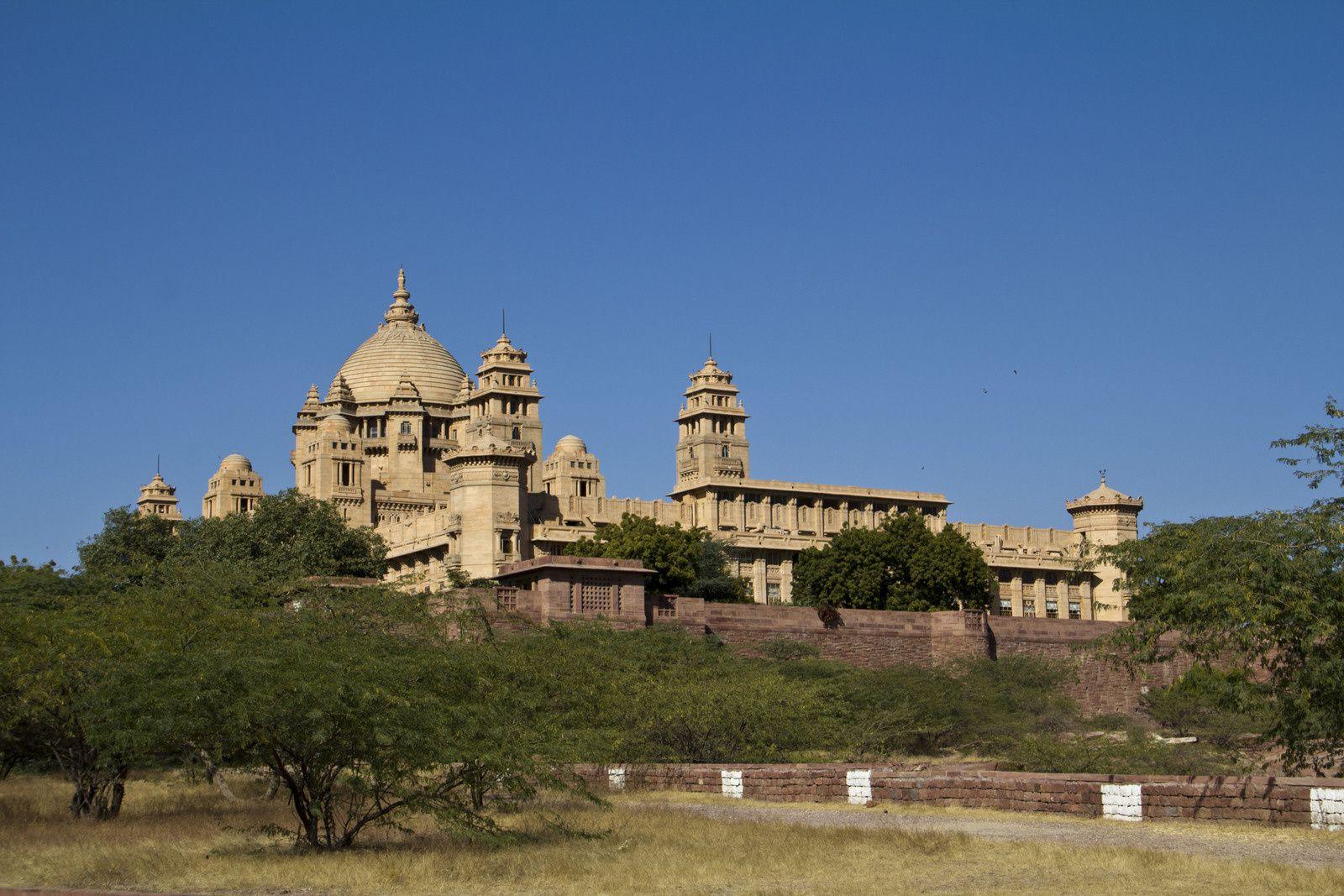 Vues du Umaid Bhawan - Palais du maharaja