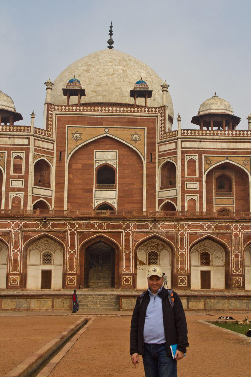 Différentes vues d'Humayun's Tomb.