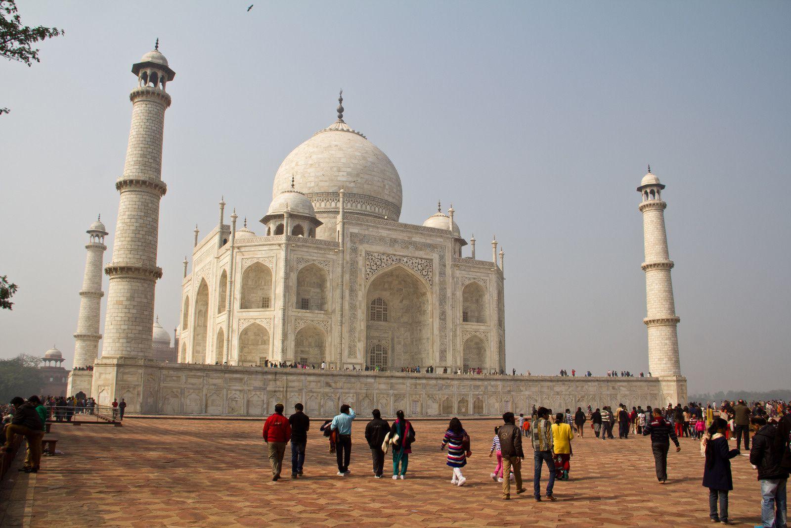 D'autres vues du Taj Mahal