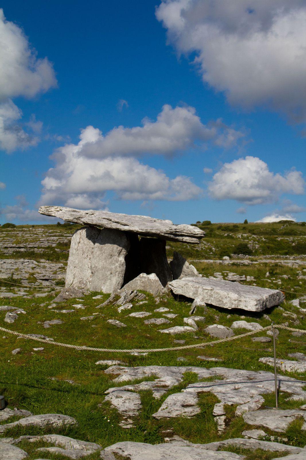 Le Burren et le dolmen de Poulnabrone