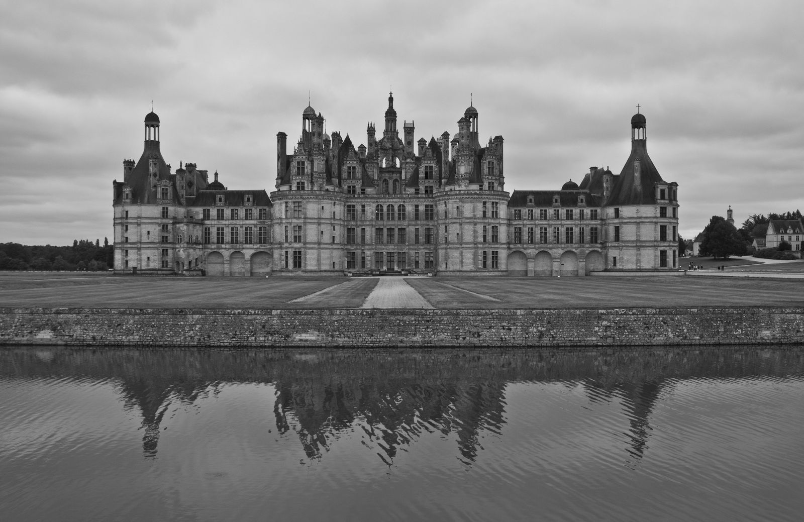Le château de Chambord, symbole du pouvoir de François 1er - Dates de visite : août 1996 et septembre 2012