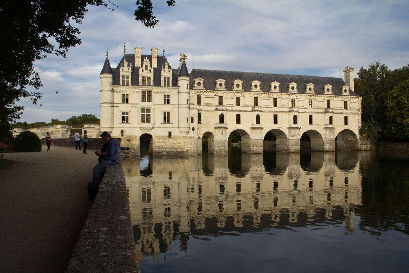 Château de Chenonceaux, dénommé le château des dames - Dates de visite : août 1996 et septembre 2012