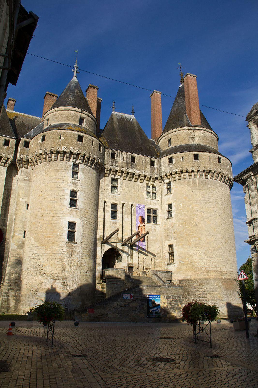 Château de Langeais, Charles VIII et Anne de Bretagne s'y marièrent - Date de visite : septembre 2012