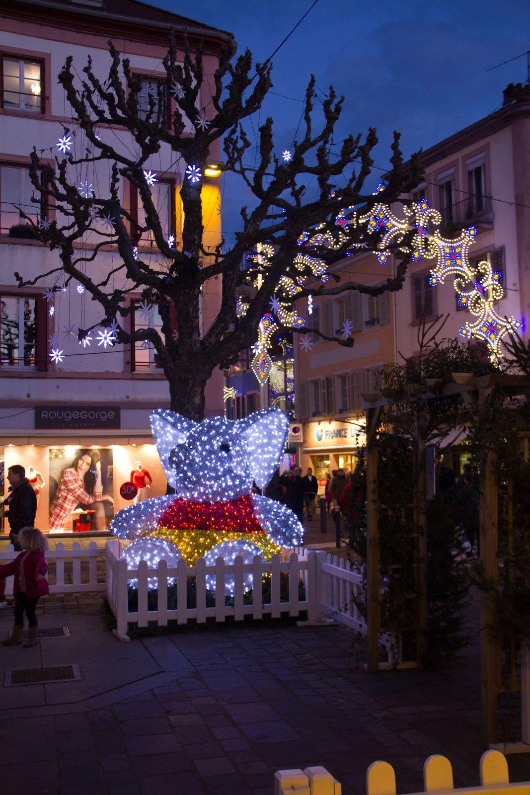Lumières de Noël 2014.