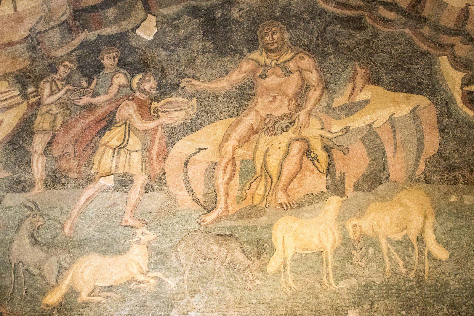 Sicile - La &quot&#x3B;villa romana del Casale&quot&#x3B;