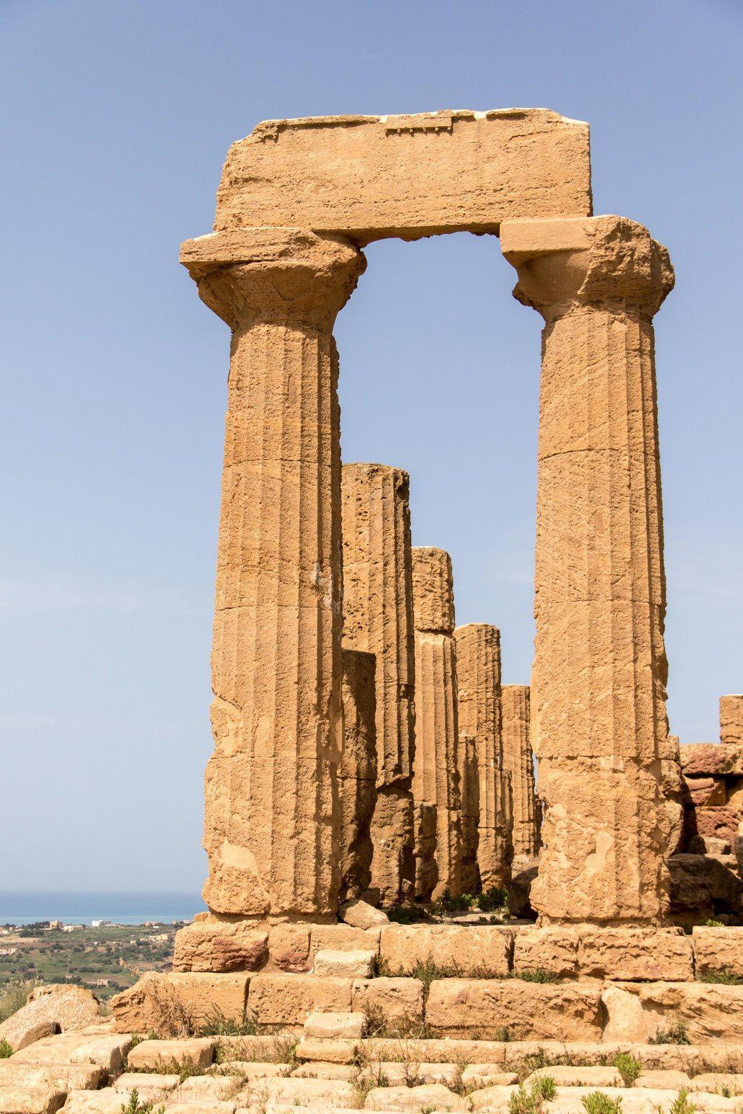 Le temple de Junon.