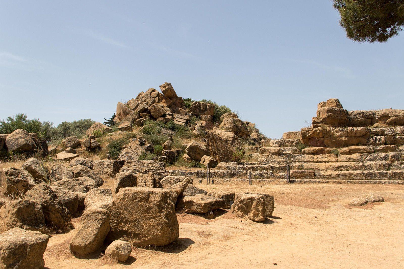 Le temple de Jupiter Olympien