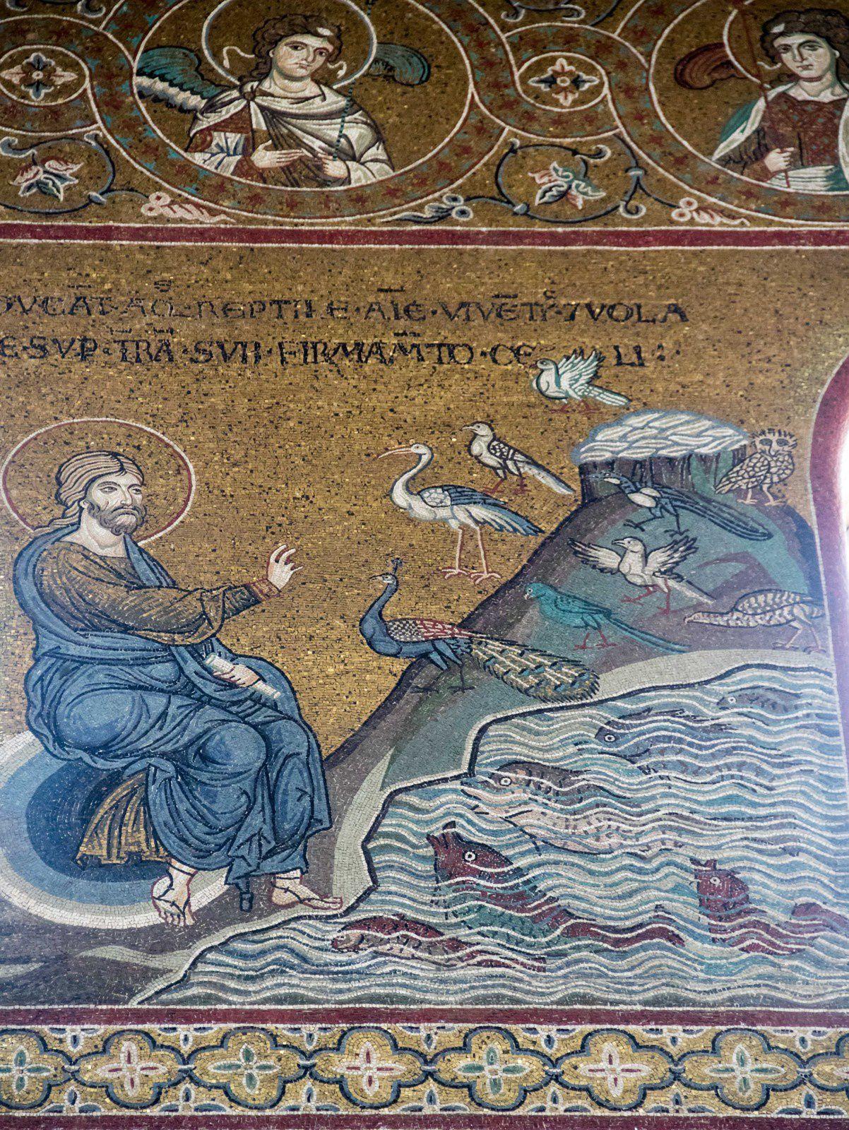 Sicile - Cathédrale et cloître de Monreale