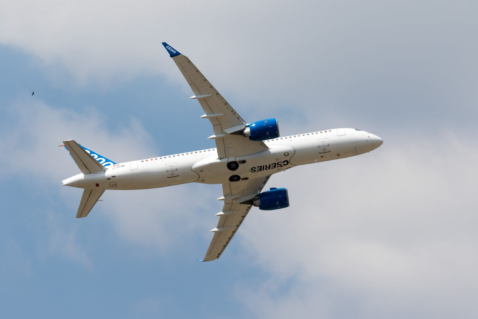 L'avion Bombardier CS300