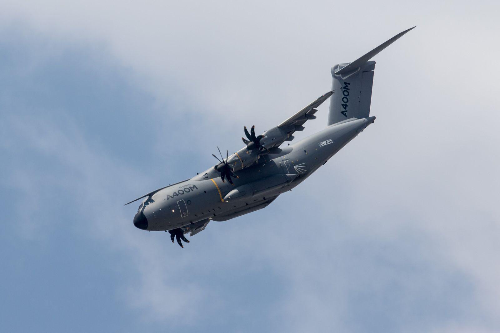 L'avion Airbus A 400 M