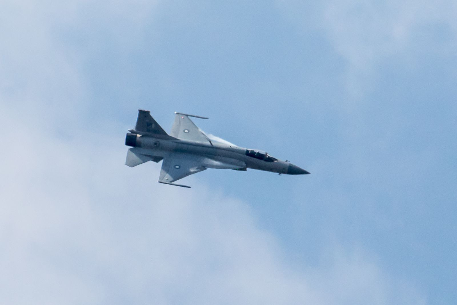L'avion PAC JF 17 Thunder