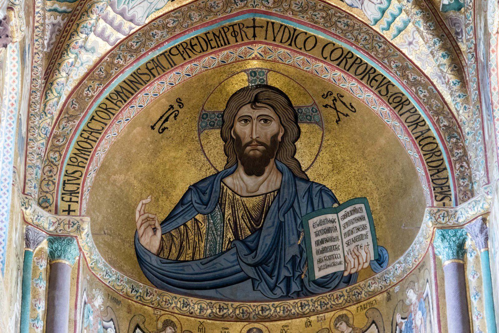 La basilique de Cefalù.