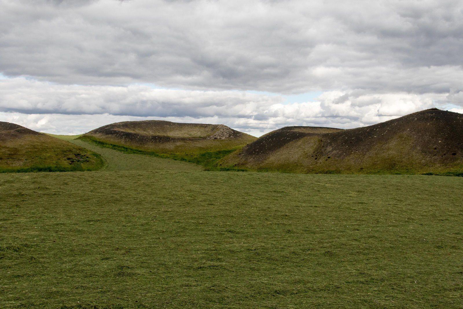 Paysages du lac Mývatn