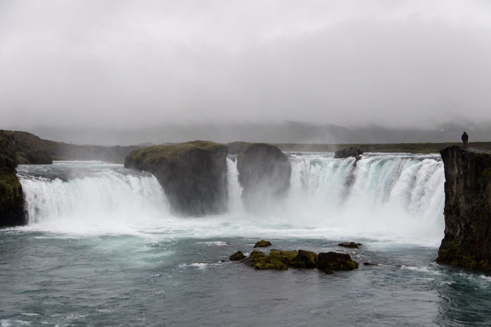 la chute de Goðafoss