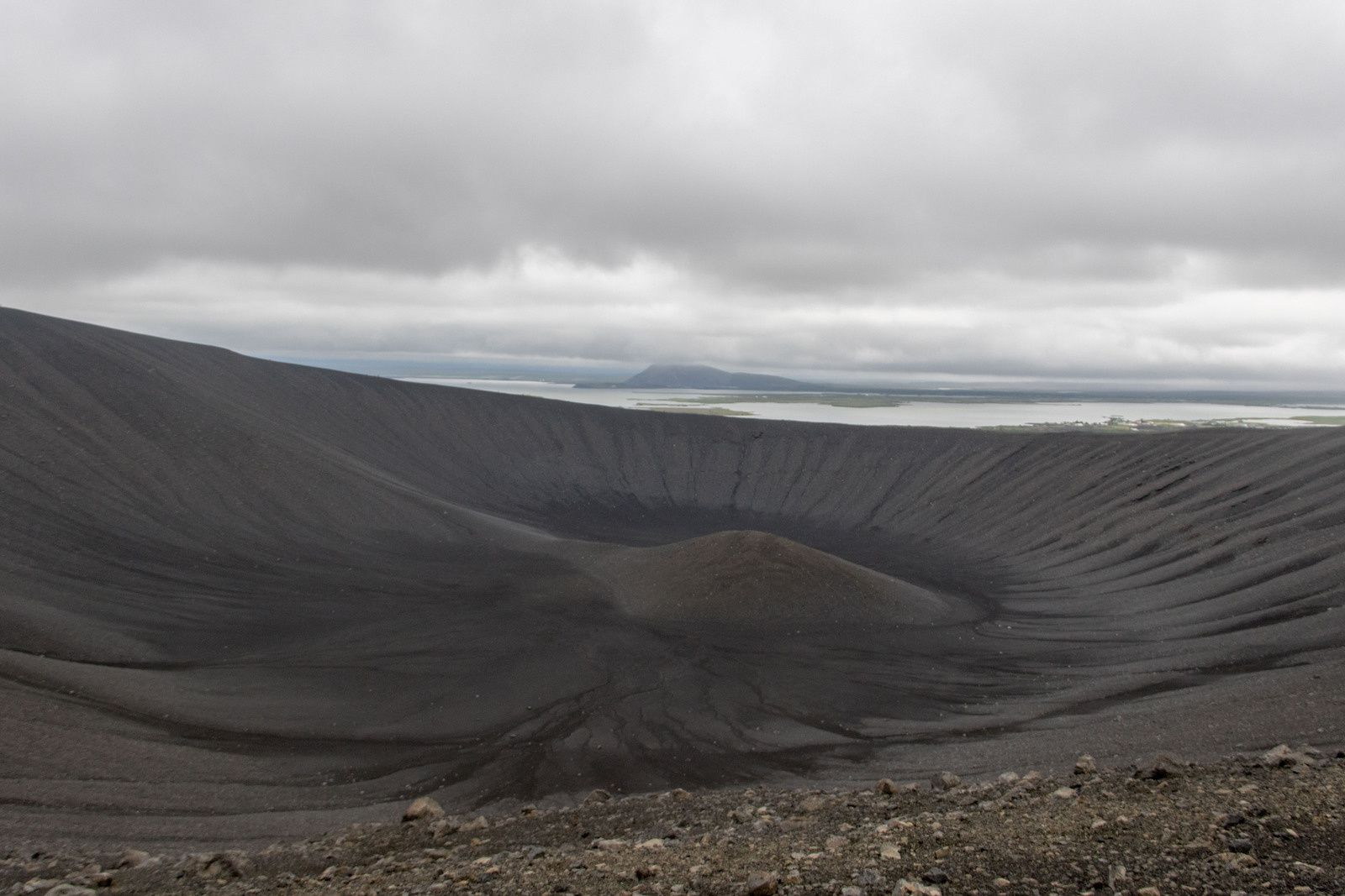 le volcan Hverfell