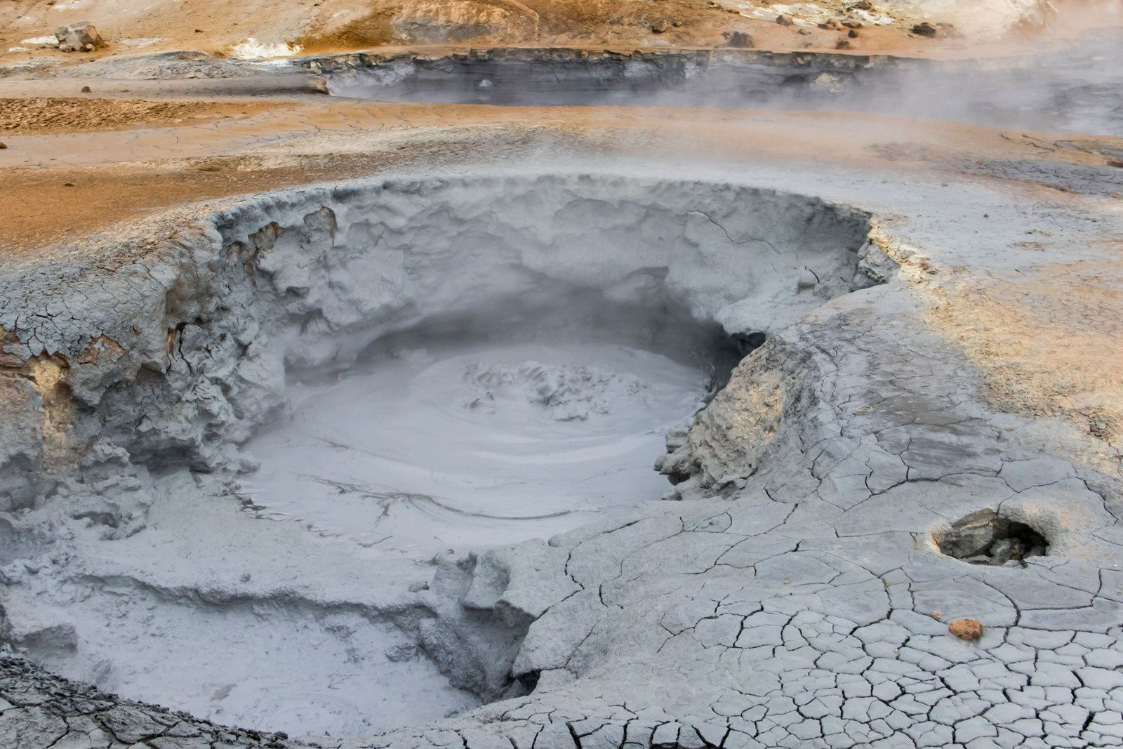 Le champ géothermique de Hverir