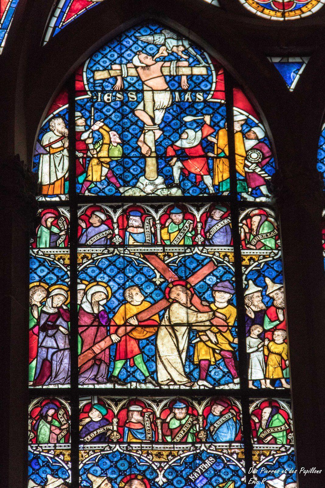Les vitraux de la cathédrale