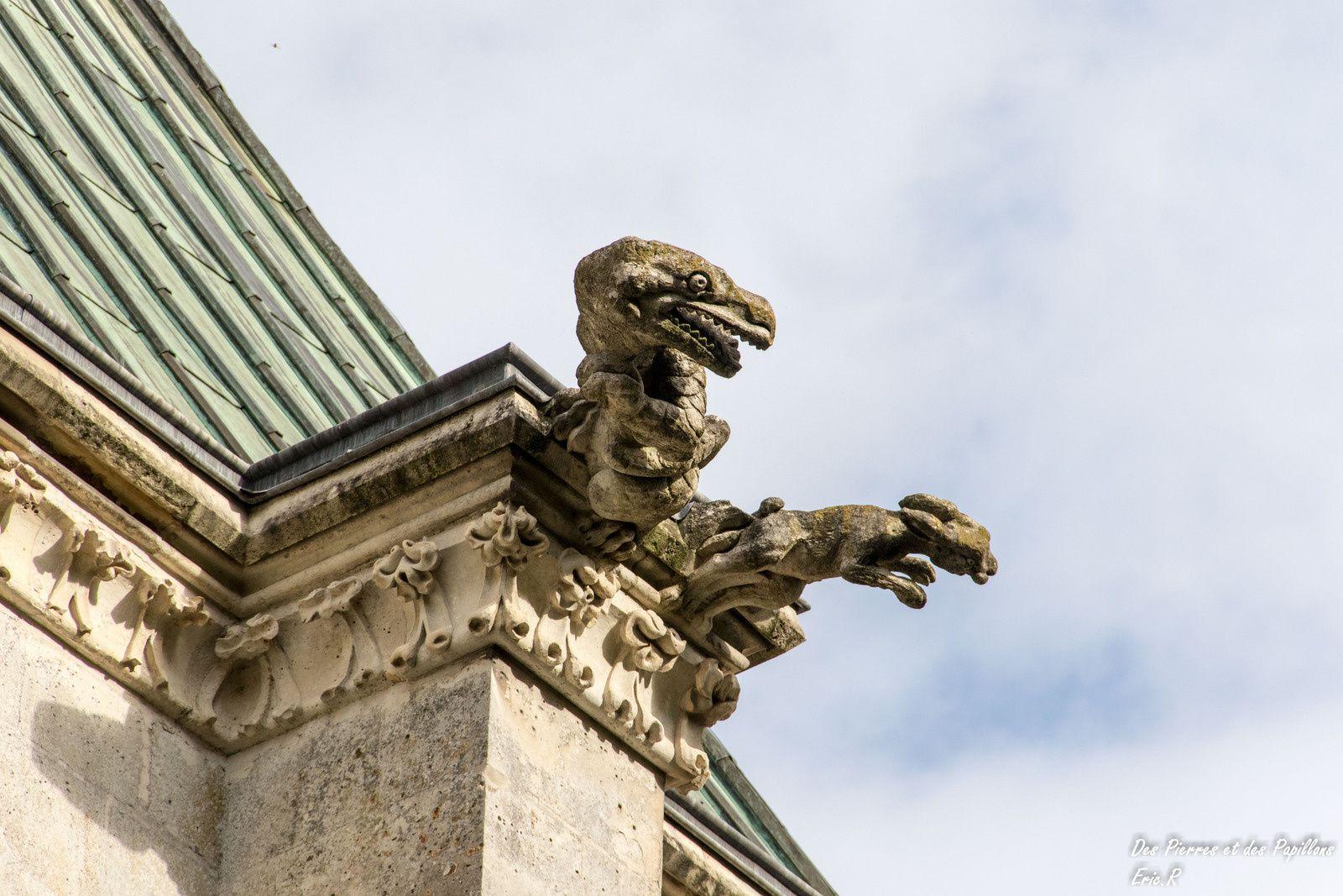 Vues extérieures de la Chapelle Notre Dame