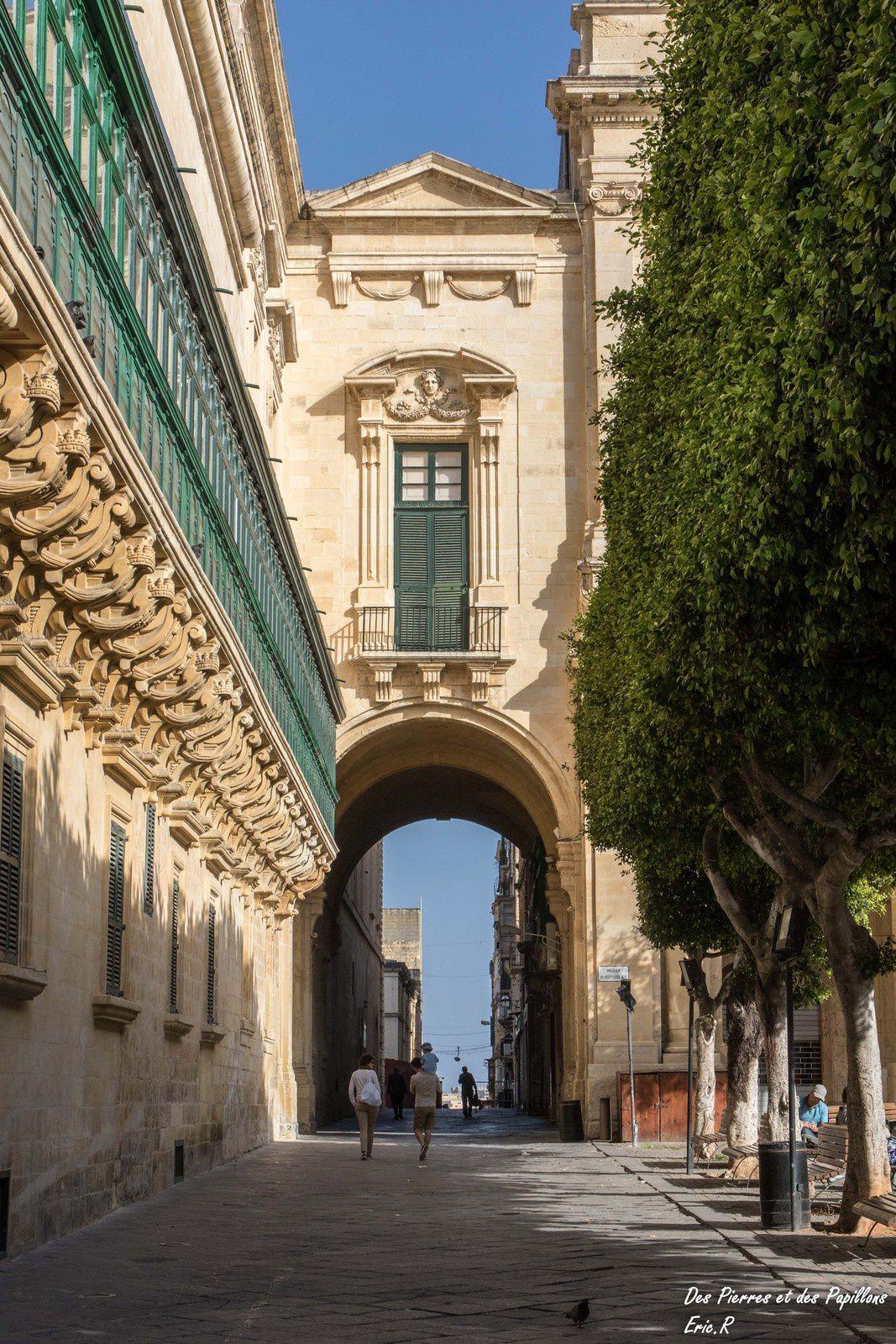 Promenade dans La Valette.