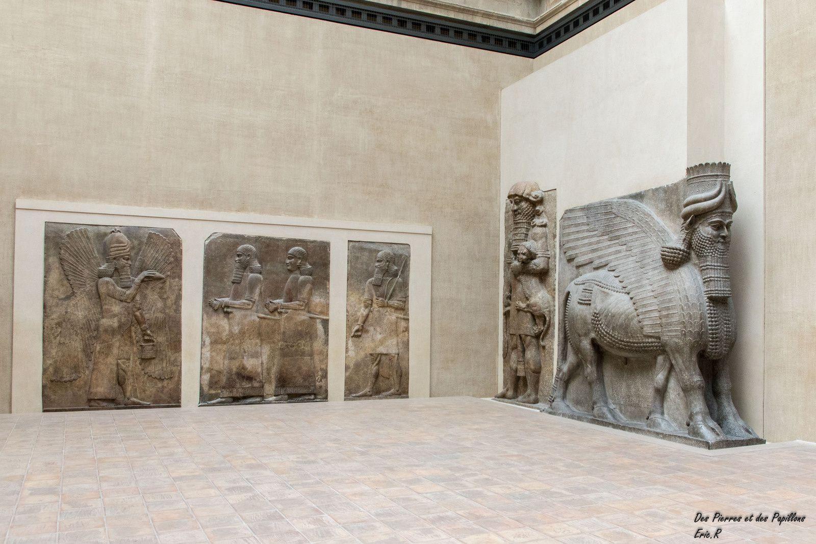 Reconstituion d'une partie du palais de Sargon II