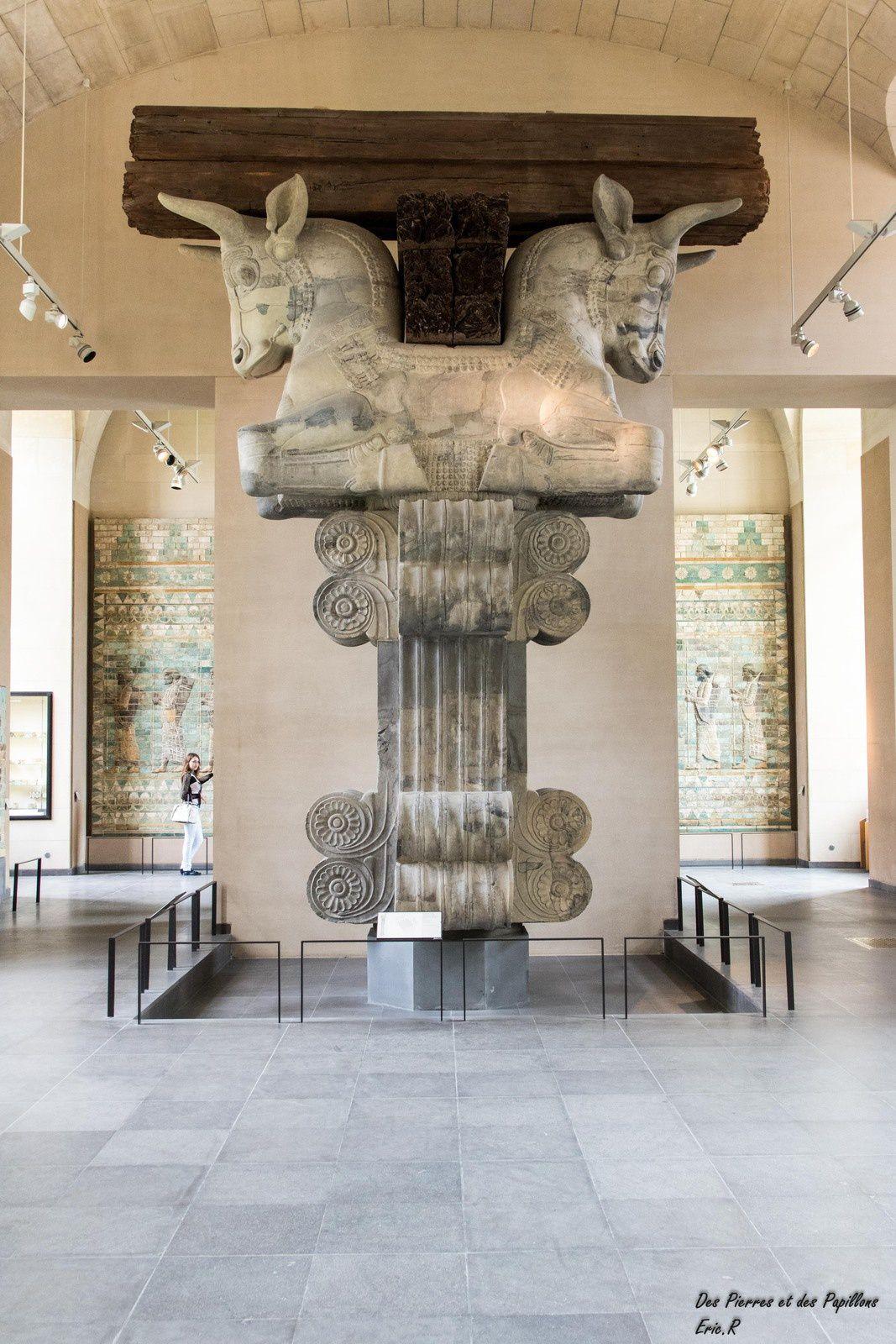 Le Louvre - Les antiquités orientales.