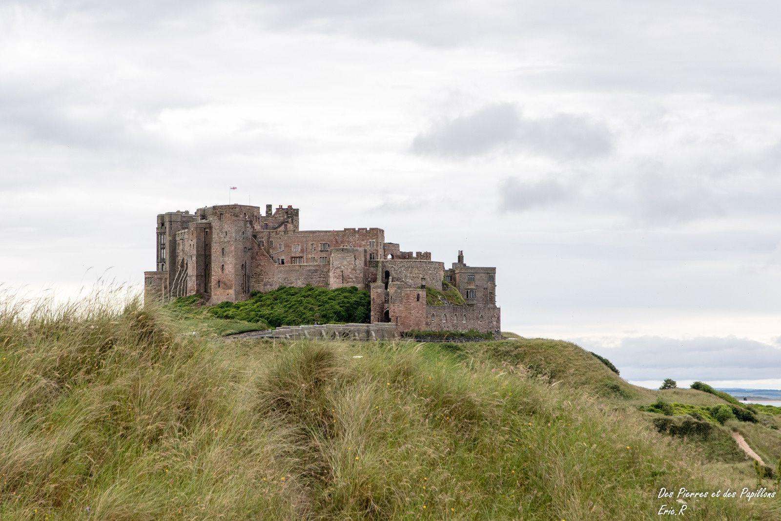 Vues du château de Bamburgh.