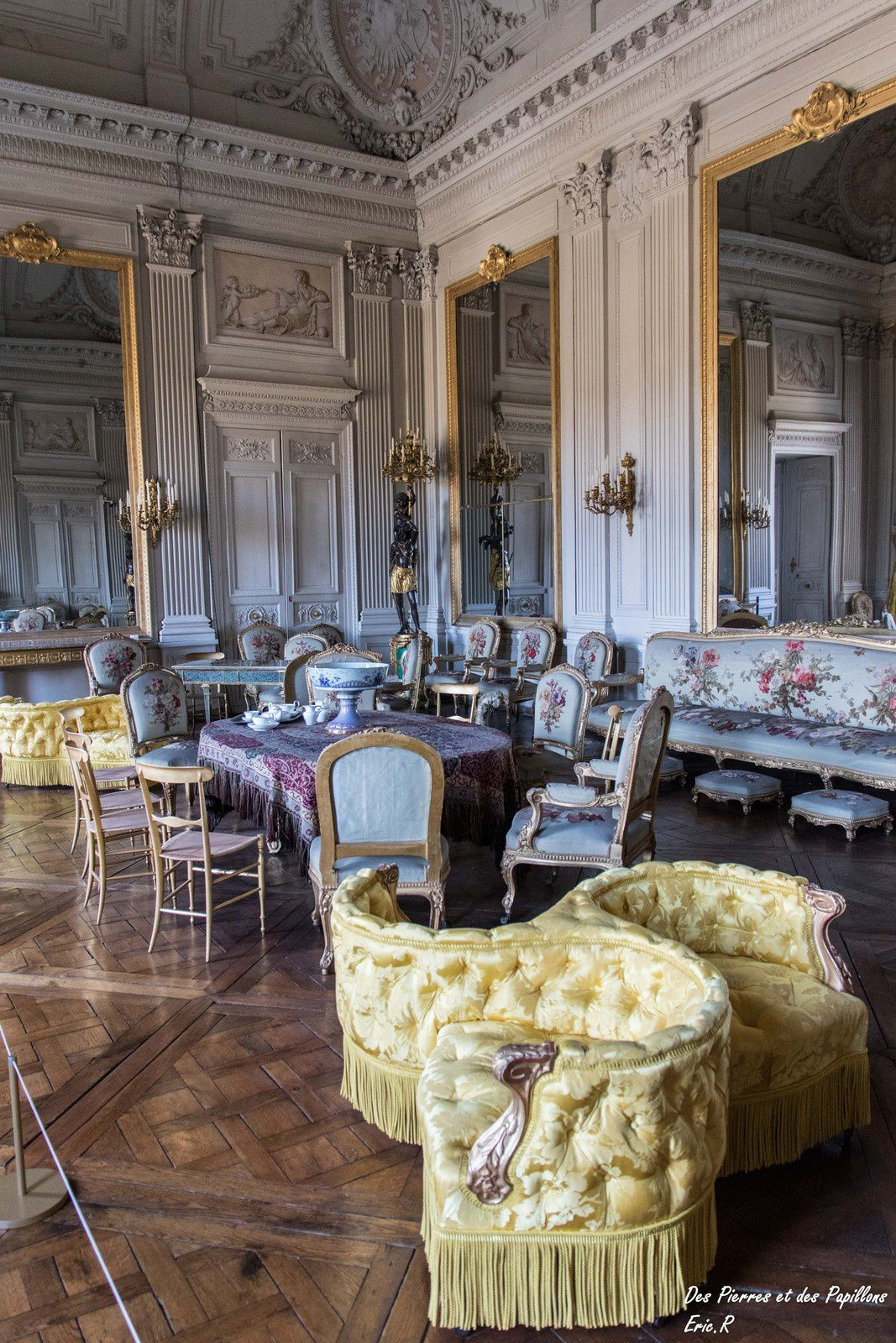 Le salon de Réception.