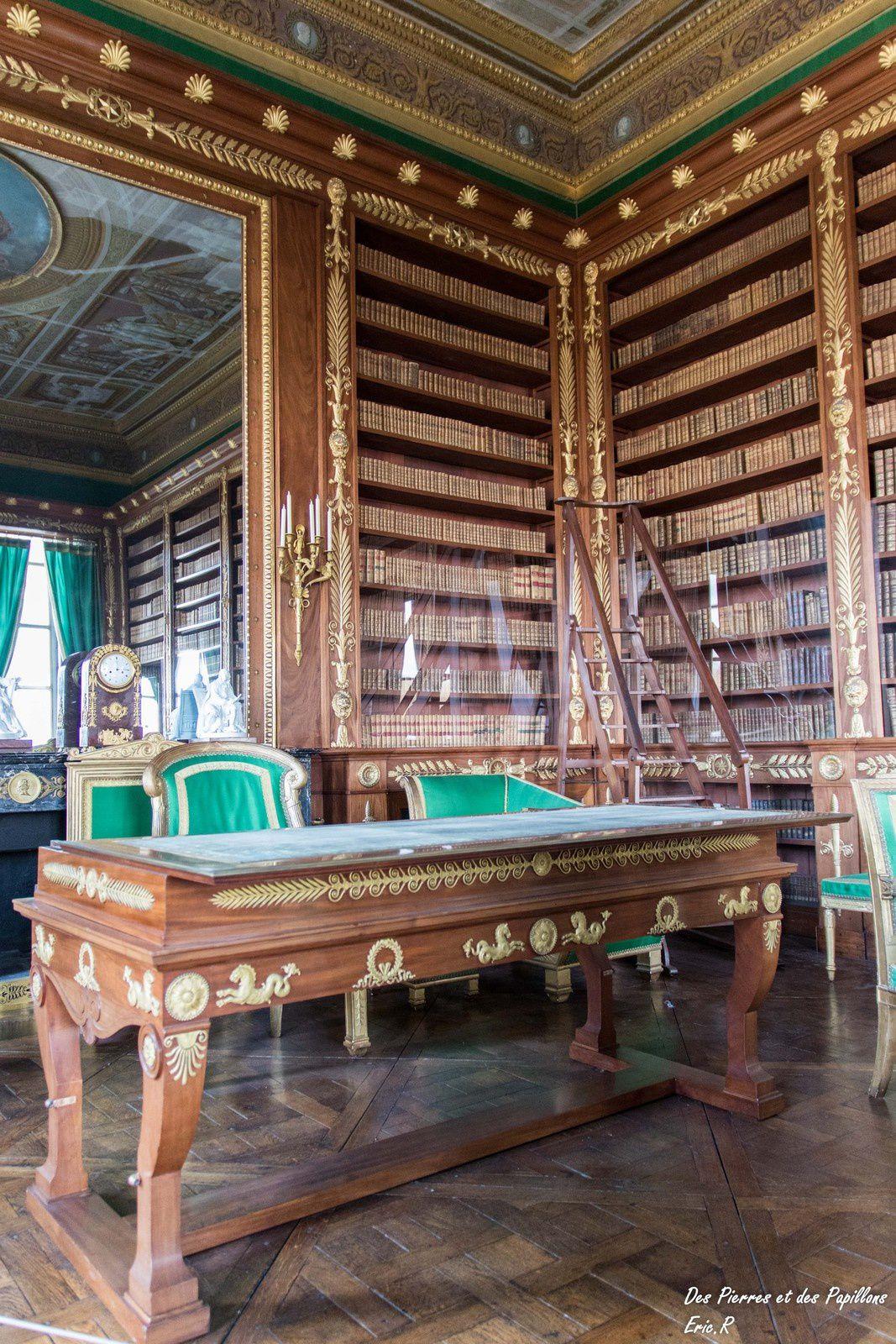 La bibliothèque de l'Empereur.