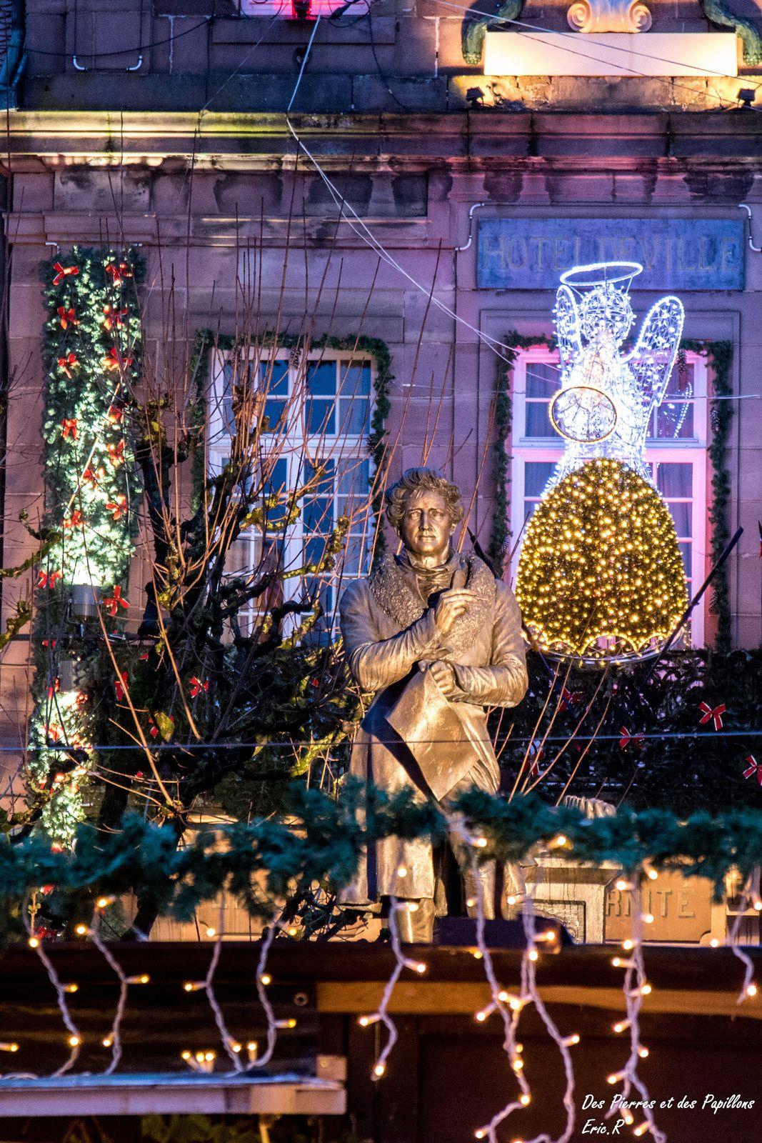 Lumières de Noël 2016 à Montbéliard.