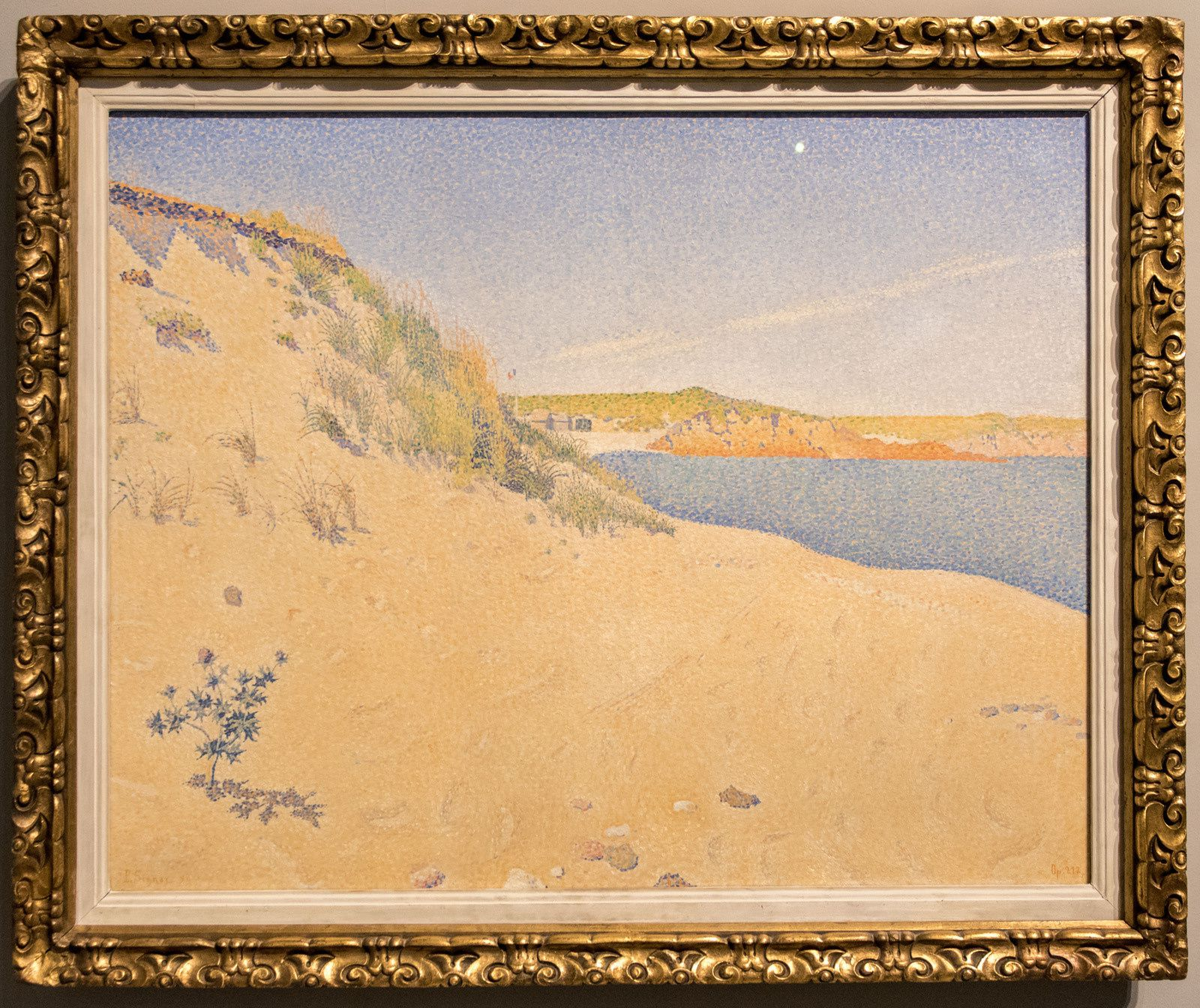 Dune (le port Hue) - 1890 - Paul Signac (1863-1935)