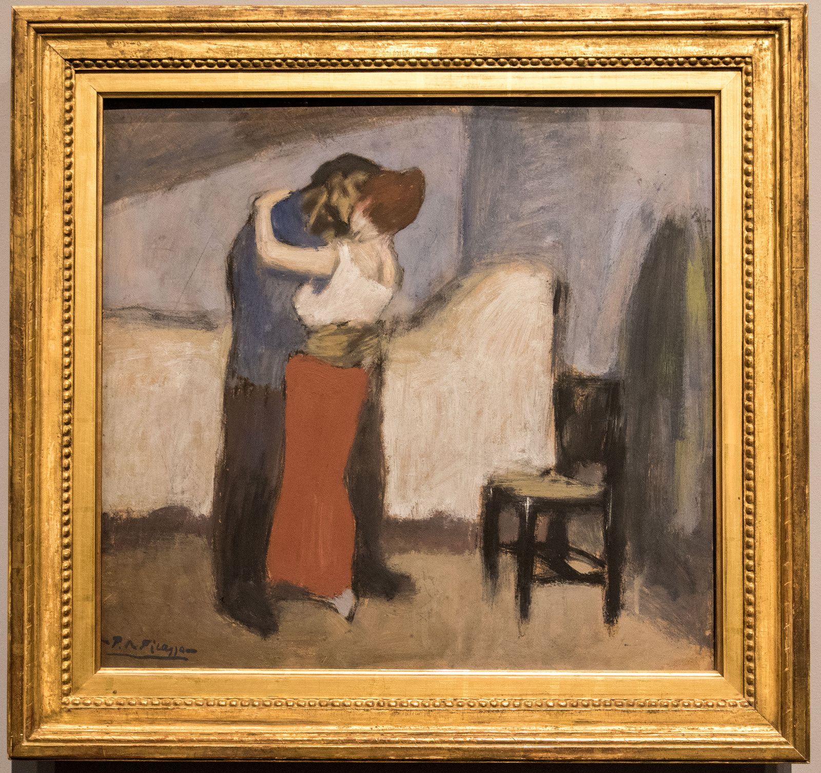L'étreinte - 1900