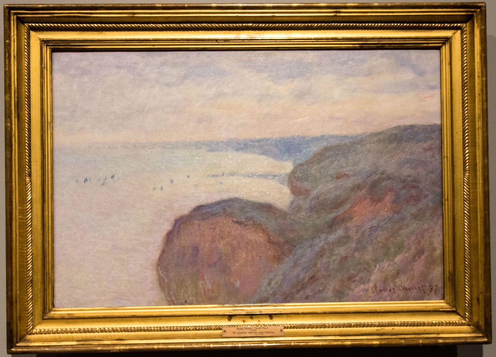 Sur les falaises de Dieppe - 1897