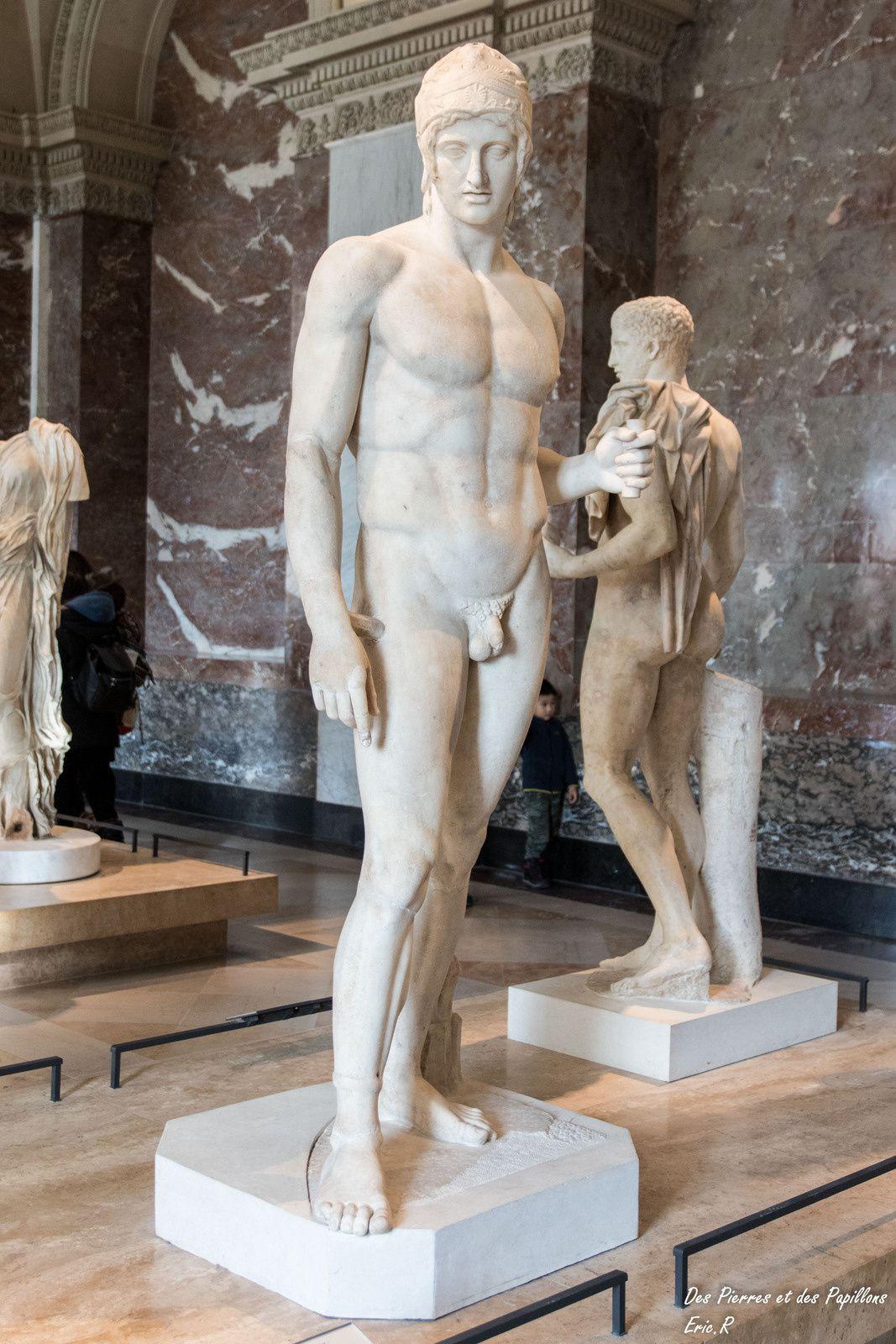 """Arés dit """"Mars Borghese"""", réplique du Ier-IIéme siècle ap. JC"""